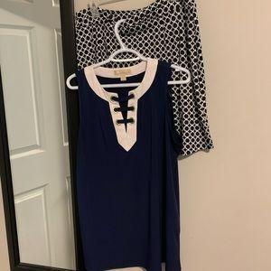 Michael Kors Top and Segments skirt.